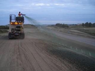 Spray-on Erosion Control Blankets